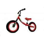 Detský bicykel bez pedálov červený