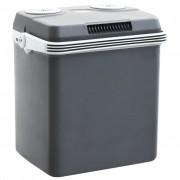 vidaXL Преносима термоелектрическа хладилна кутия 32 л 12 V 230 V A++
