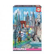 Puzzle New York, Citypuzzles, 200 piese