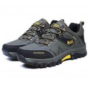 EB YT Exterior585170 Lace-up Botas De Montaña Deporte Zapatos De Hombre Para Acampar Escalada Verde - Green