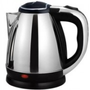 sourceindiastore Electric Kettle(1.8L) Silver with black handle Electric Kettle(1.8, Silver with black Handle)