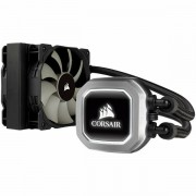 Corsair Hydro Series H75 Liquid CPU Cooler, 120mm radiator 25mm high for compatibility with more cases dual PWM fans, Intel 115x, Intel 2011/2066, AMD AM3/AM2, AMD AM4, white lighting CW-9060035-WW