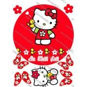 Imagine comestibila Hello Kitty - 2