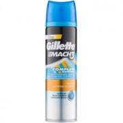 Gillette Mach 3 Close & Smooth gel pentru bărbierit 200 ml