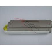 Oki Cartucho de tóner para OKI 43381905 amarillo compatible (marca ASC)
