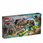 Конструктор Лего Джурасик Свят - Битка между тиранозавър и динозавър-робот, LEGO Jurassic World, 75938