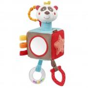 Cub din plus cu activitati Fehn Ursulet panda, sunet fosnit, oglinda