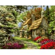 Gaira Malování podle čísel Starý dům M1085