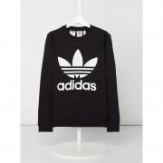 Adidas Sweatshirt mit gummiertem Logo-Print