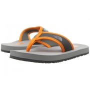 The North Face Base Camp Flip-Flop (ToddlerLittle KidBig Kid) Griffin GreyExuberance Orange
