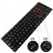 Tastatura Laptop Toshiba Satellite L50D-C iluminata layout UK + CADOU