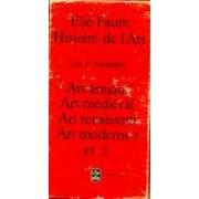 ART HIstoire de l'art (Coffret 5 vols.) - Elie Faure - Livre