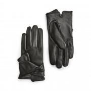 Handskmakaren Brindisi handskar i skinn, dam, Svart, 6,5