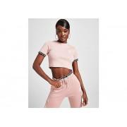 SikSilk T-Shirt Crop Rib Tape Femme - L