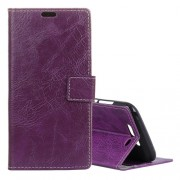 Retro Crazy Horse Texture Horizontal Flip Leather Case for Xiaomi Black Shark with Holder & Card Slots & Photo Frame(Purple)