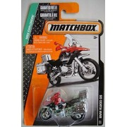 Matchbox Mbx Explorers Red/Black/Silver Bmw R1200 Gs 101/120