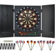 Set Joc Darts cu Tinta Electronica 12 Sageti 27 Jocuri 175 Moduri Afisaj LCD Semnale Sonore si Luminoase