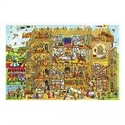 Bigjigs Toys BJ016b Castle Floor Puzzle (48 Piece)