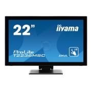 "MONITOR LED IIYAMA 22"" T2236MSC-B1 BLACK WIDE FULL HD (PLT2236MSC-B1)"