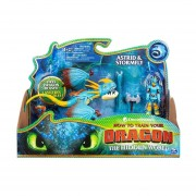 Como Entrenar a tu Dragon The Hidden World Astrid y Stormfly Figura de accion 2 pack