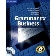 Grammar for Business with Audio CD, Paperback