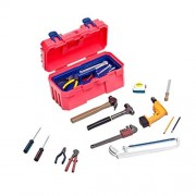 MonkeyJack 1/6 Red Toolbox Repair Tools Kit for 12'' Hot Toys Sideshow Dragon Action Figure