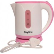 Skyline VTL-5010 Electric Kettle(1.2 L, Pink, White)