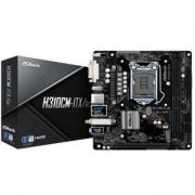 Дънна платка ASRock H310CM-ITX/ac, H310, LGA1151, DDR4, PCI-Е (DisplayPort&HDMI&DVI), 4x SATA3 6.0 Gb/s, ASROCK H310CM-ITX/AC