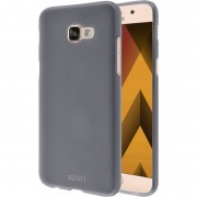Azuri Flexible Sand Samsung Galaxy A3 (2017) Back Cover Grijs