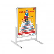 Edimeta Stop-trottoir vertical Cadro-Clic® A0 / 120 x 80 cm