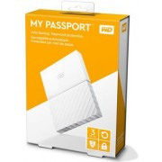 HDD eksterni Western Digital My Passport White 3TB, WDBYFT0030BWT
