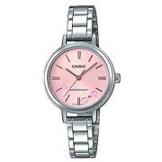 Casio Enticer Analog Red Dial Womens Watch-LTP-E146D-4ADF (A1342)