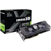 Grafička kartica Inno3D GeForce GTX 1080 Twin X2 GDDR5X 8GB/256bit, 1607MHz/10000MHz, PCI-E 3.0 x16, HDMI, DVI-D, 3xDP, HerculeZ 2X Cooler (Double Slot), Retail