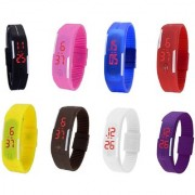 KAYRA FASHION LED MULTIKAY COLOR UNISEX COMBO LIMITED STOCK FAST SELLING OUT Digital Watch - For Boys Girls Men Women