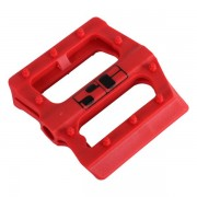 Savage Slim Jim Spare Pedal Bodies Red 9/16