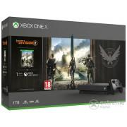 Consola Microsoft Xbox One X 1TB + Tom Clancys The Division 2