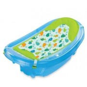 Set cadita si suport de baita Sparkle and Splash – Blue