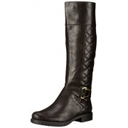 LifeStride Women's Marvelous Riding Boot Dark Brown 6.5 C/D US