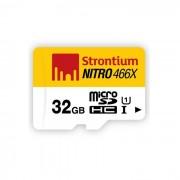 Nitro de estroncio 32GB MicroSDHC UHS-I Class10 hasta 70MB / s SRN32GTFU1R