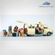 "Ford Transit "" Taxi "" HO, Preiser 33244"