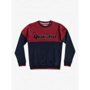 Quiksilver Power Slash - Sudadera para Chicos 8-16 - Rojo - Quiksilver