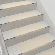 Комплект от 15 броя самозалепващи се килими (стелки) за стълби 280 g/m² , Правоъгълник,