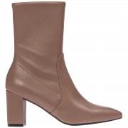 Stuart Weitzman Stivaletti stivali donna con tacco in pelle landry 75