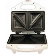 Sandwich Maker Home ST-611 700 W platane triunghiulare capacitate 4 sandwich-uri Alb