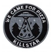 nažehlovačka (nášivka) KILLSTAR - UFO - BLACK - K-PTH-U-2984