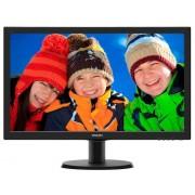"Monitor TFT LED Philips 23.6"" 243V5LHSB/01, Full HD (1920 x 1080), VGA, DVI, HDMI (Negru)"
