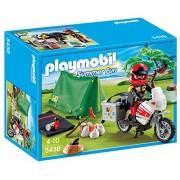 PLAYMOBIL Biker Camp at Site Playset