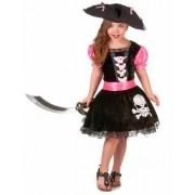 Disfarce pirata grily Menina