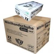 SFM Hospital Products GmbH SFM ® BLACKLETS GRIP : L Nitrilhandschuhe puderfrei F-tex schwarz (1000)