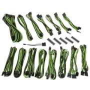 Kit cabluri modulare BitFenix Alchemy 2.0 EVG-Series Black/Green